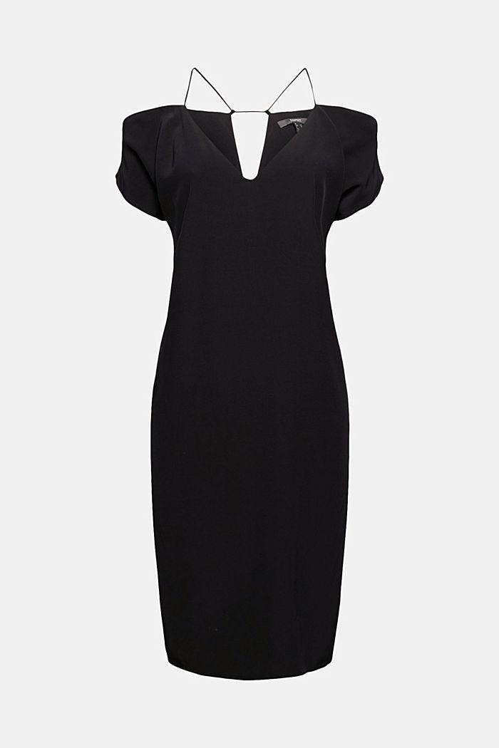 Kleid mit Carmen-Ausschnitt