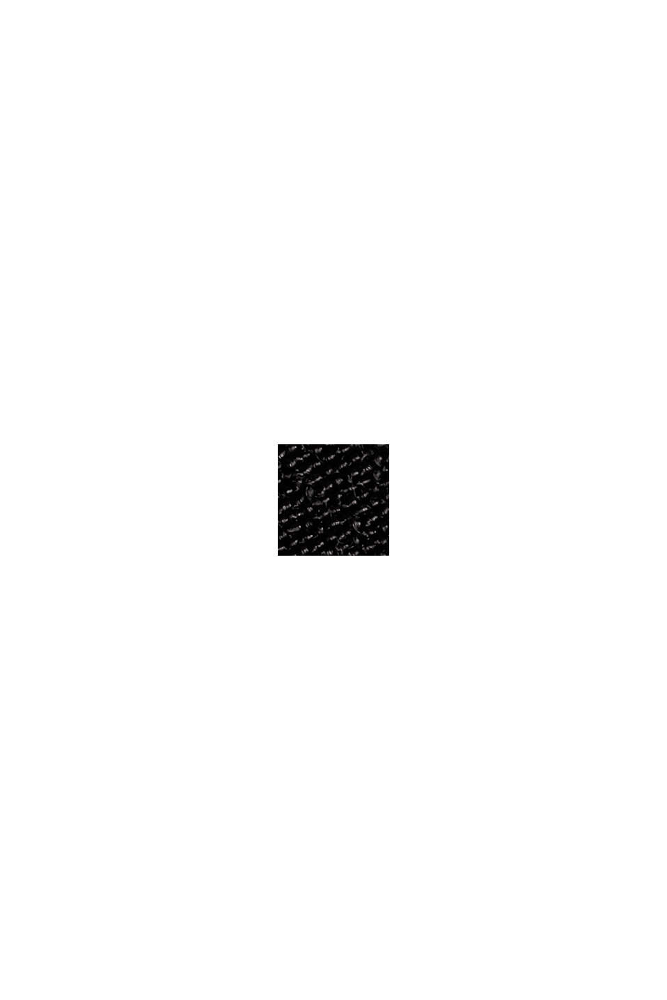 Maxi-kjole med LENZING™ ECOVERO™, BLACK, swatch