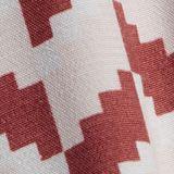 Kleid mit Grafik-Print und LENZING™ ECOVERO™, TERRACOTTA, swatch