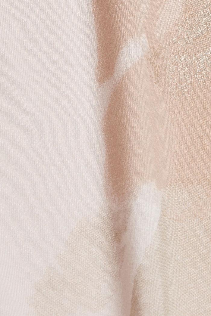 Print-T-Shirt aus LENZING™ ECOVERO™, LIGHT PINK, detail image number 4