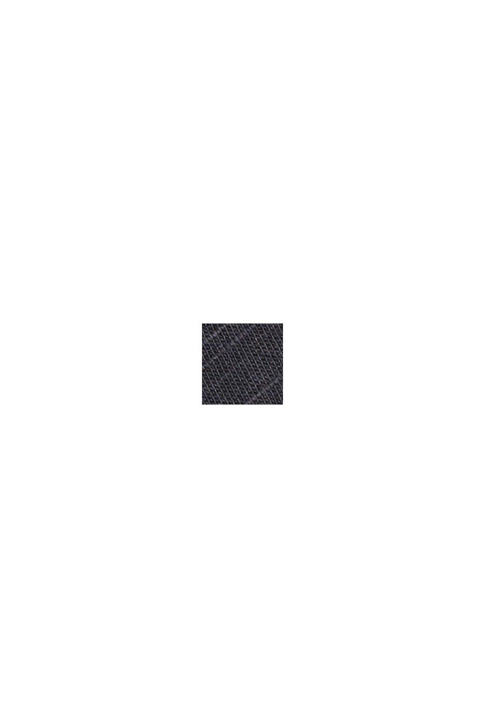 Cotone biologico/TENCEL™: t-shirt con stampa, BLACK, swatch