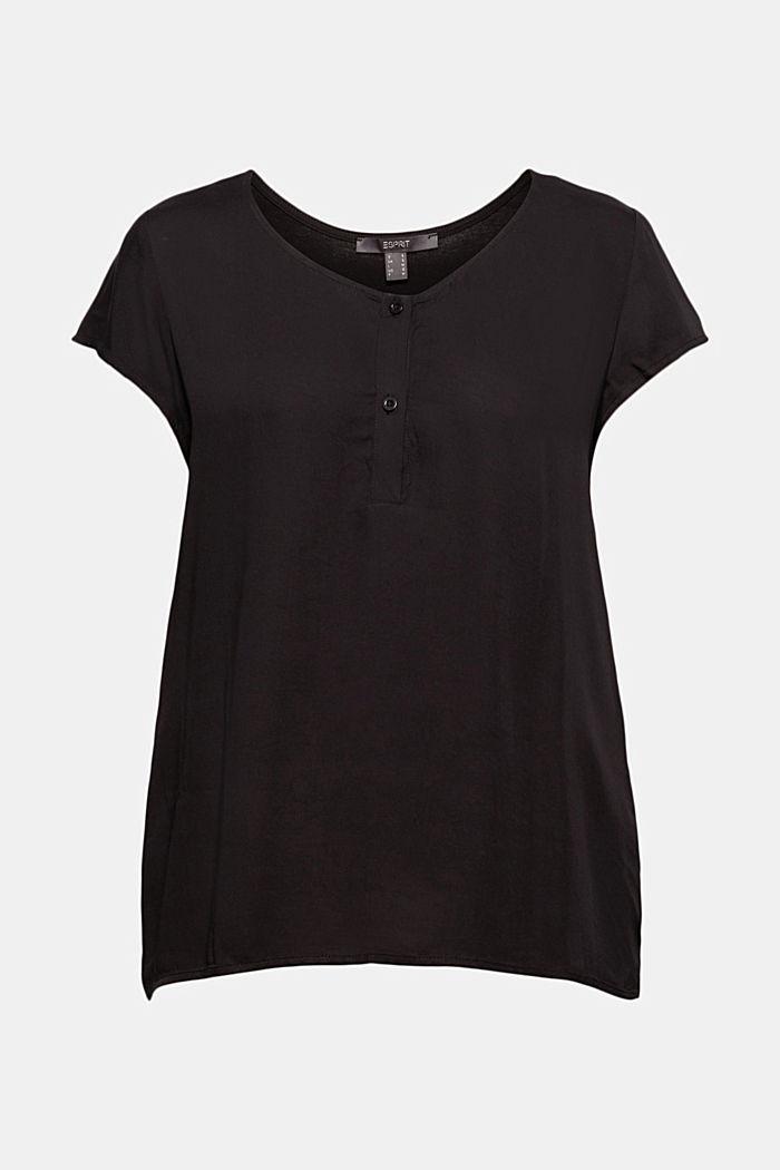 T-shirt med LENZING™ ECOVERO™