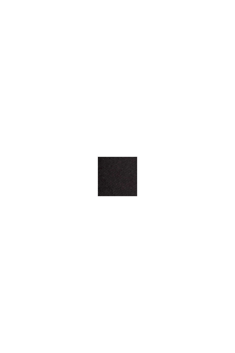 T-Shirt mit LENZING™ ECOVERO™, BLACK, swatch
