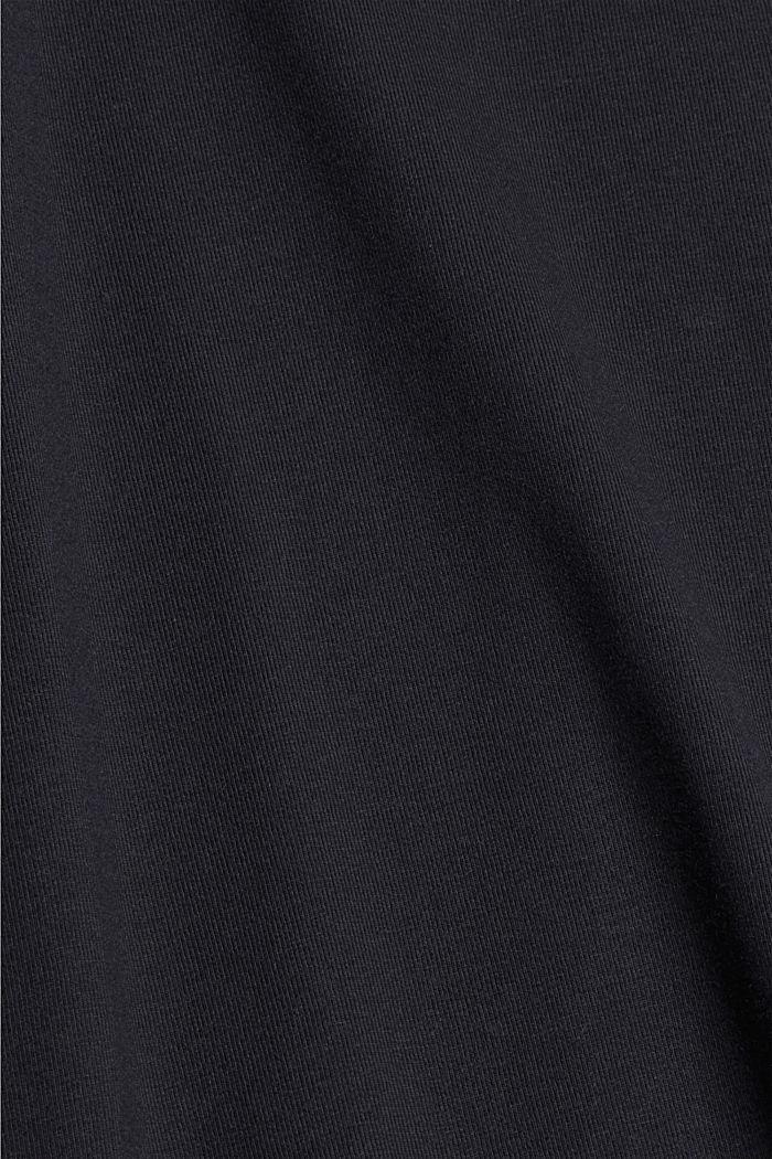 Jersey-Poloshirt mit COOLMAX®, BLACK, detail image number 4