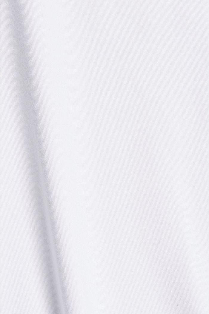 Žerzejové polokošile s úpravou COOLMAX®, WHITE, detail image number 4