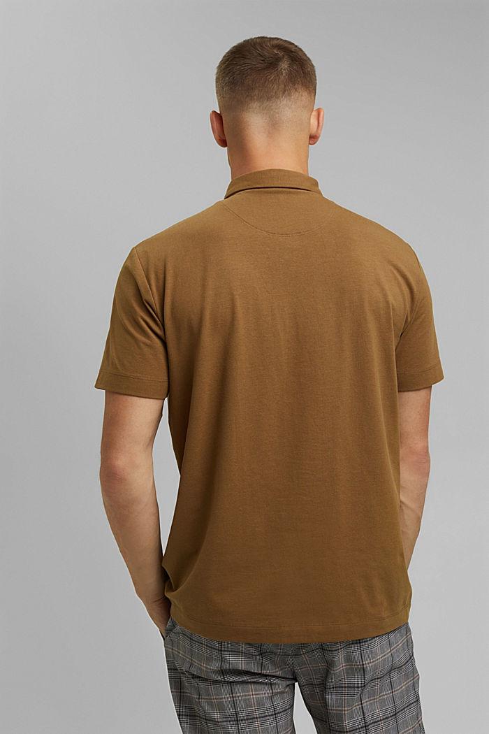 Koszulka polo z jerseyu z technologią COOLMAX®, BARK, detail image number 3