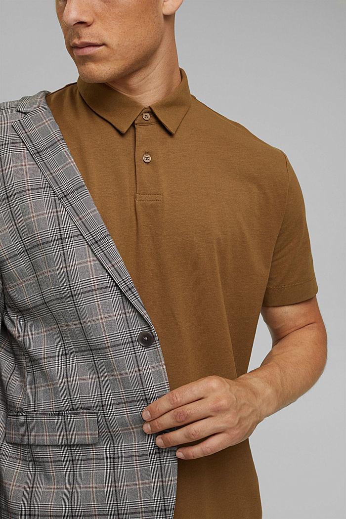 Koszulka polo z jerseyu z technologią COOLMAX®, BARK, detail image number 1