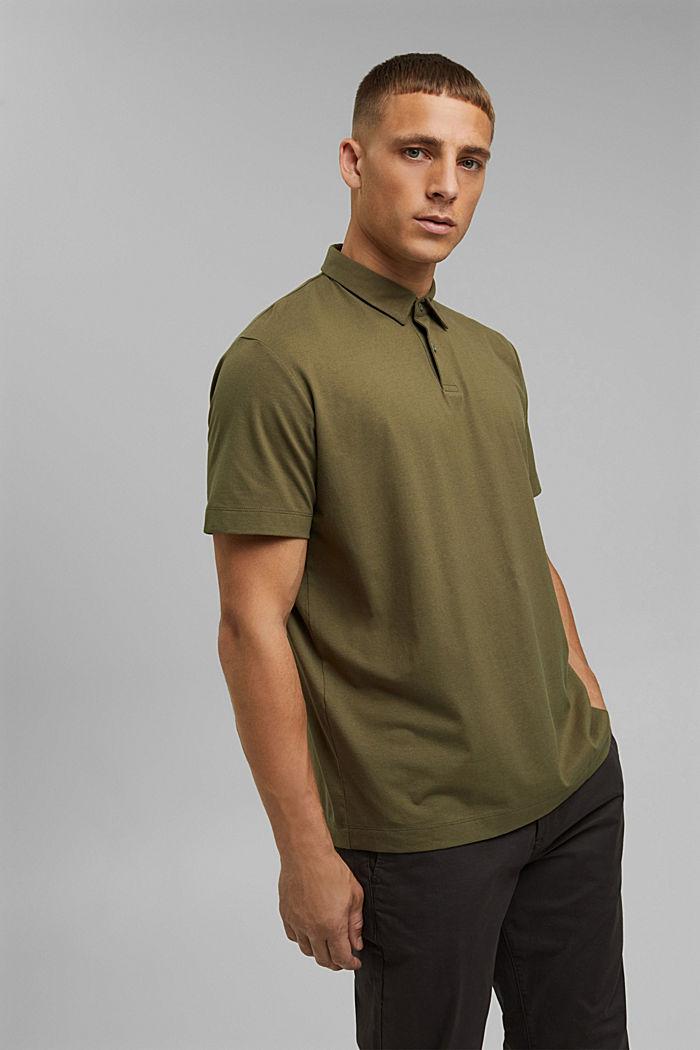 Koszulka polo z jerseyu z technologią COOLMAX®, LIGHT KHAKI, detail image number 0