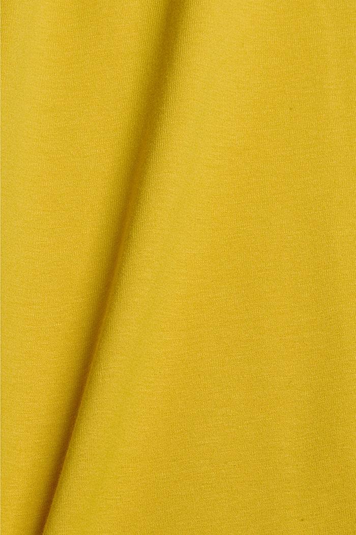 Jersey polo shirt with COOLMAX®, YELLOW, detail image number 5