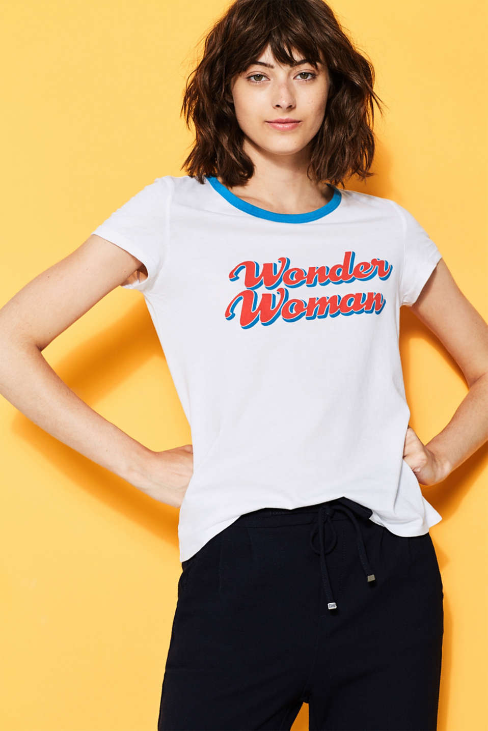 edc - T-shirt Wonder Woman en coton