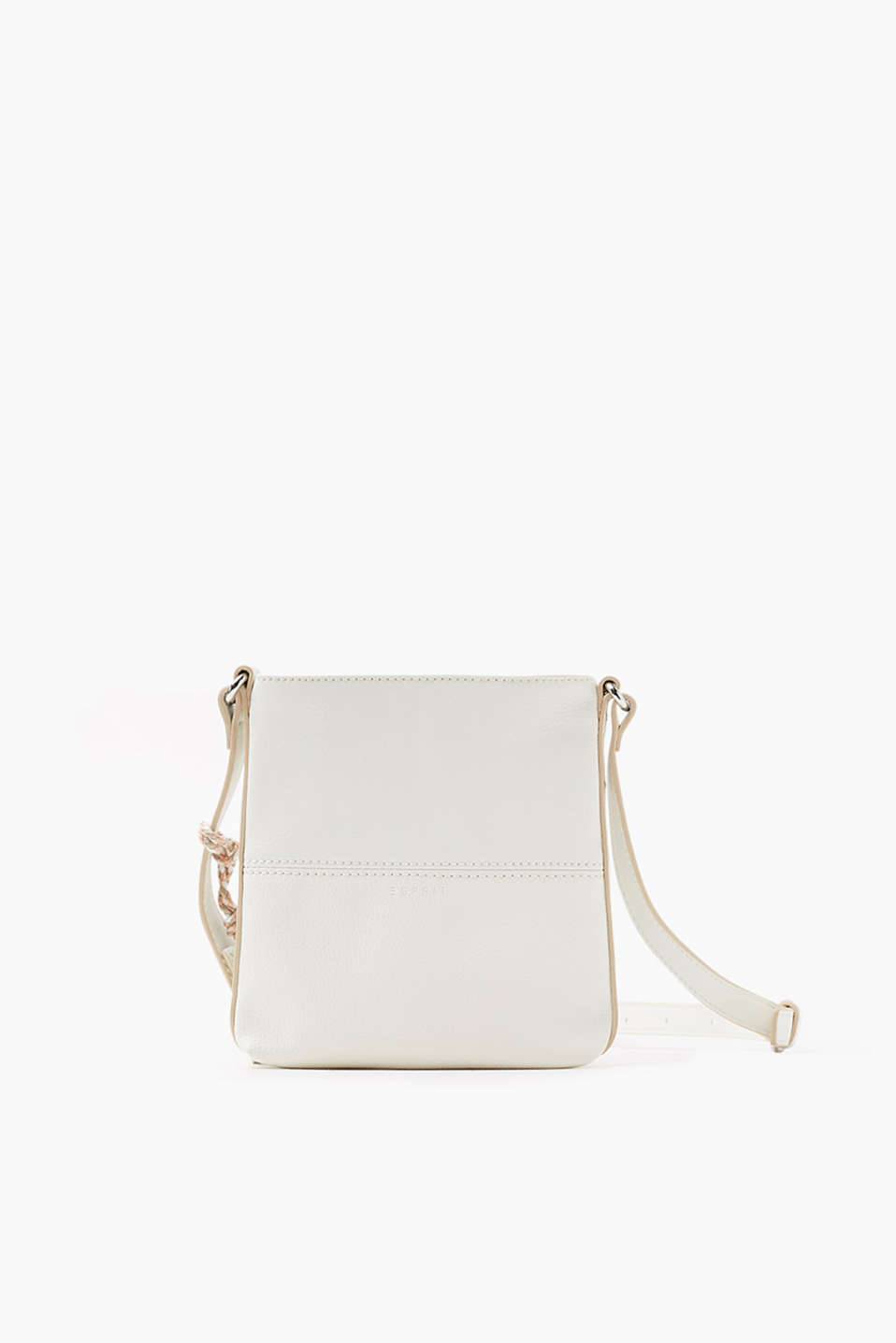 Esprit - Small, smooth faux leather shoulder bag