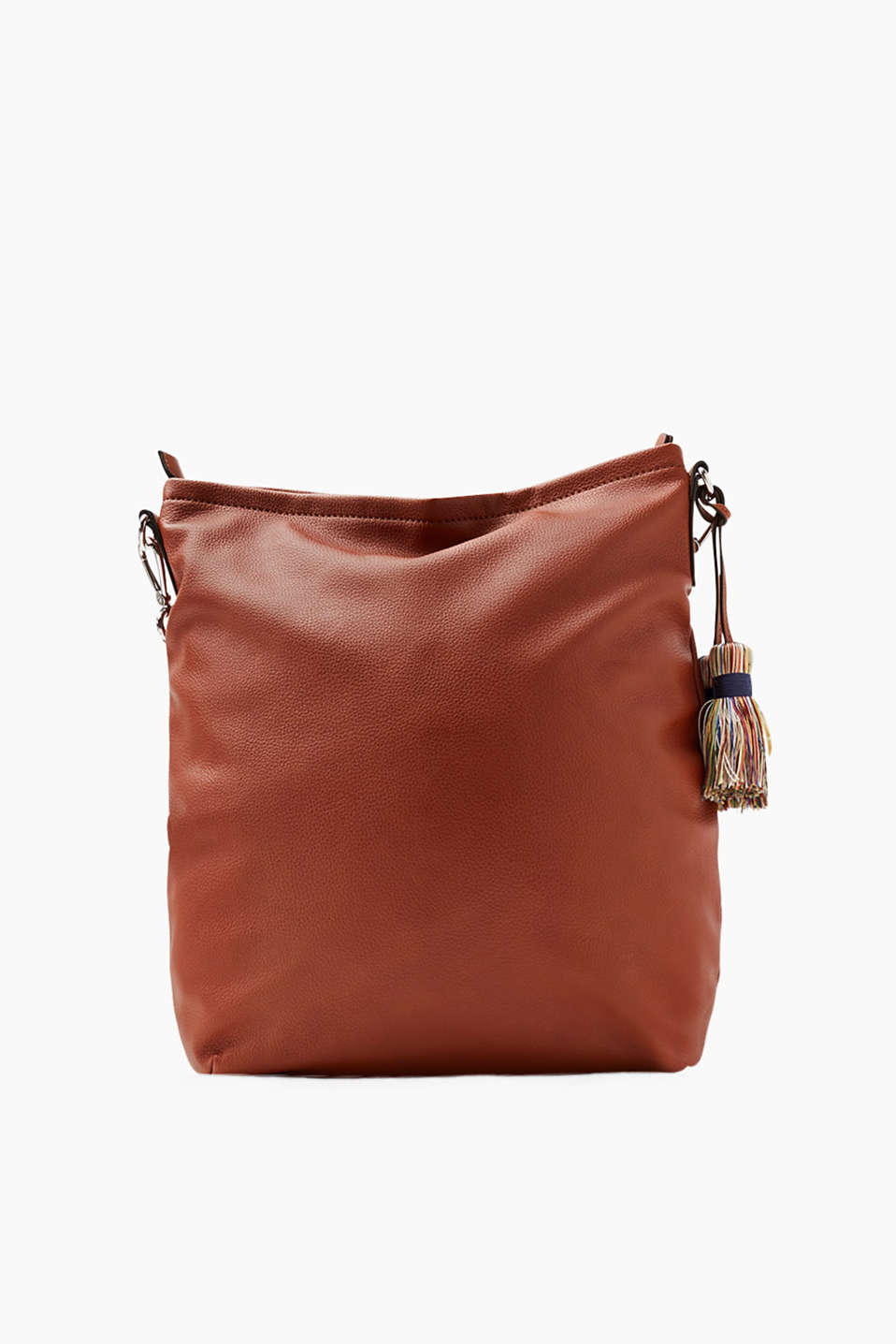 Esprit - Trendige Hobo Bag in Leder-Optik