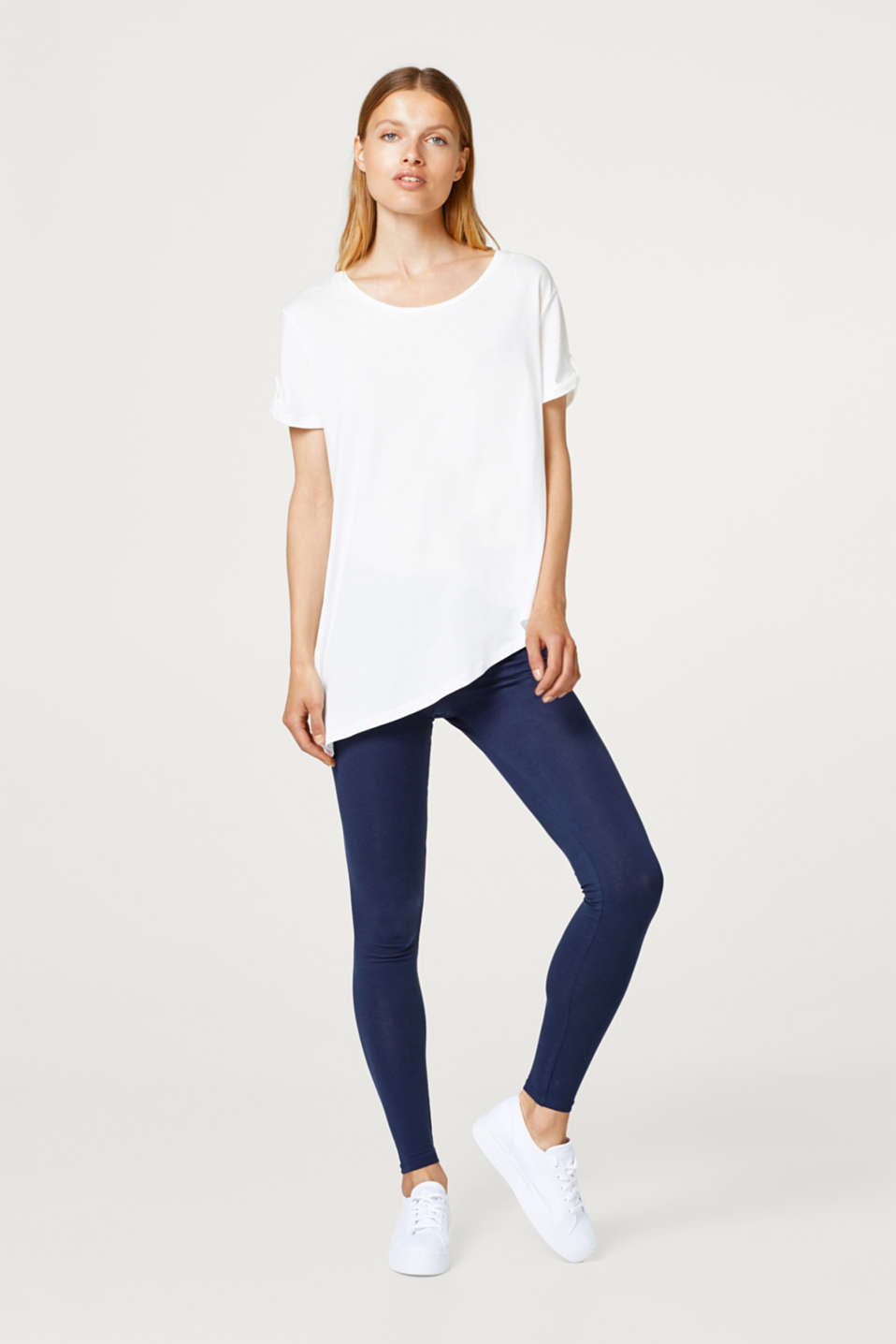 edc - Soft leggings with organic cotton