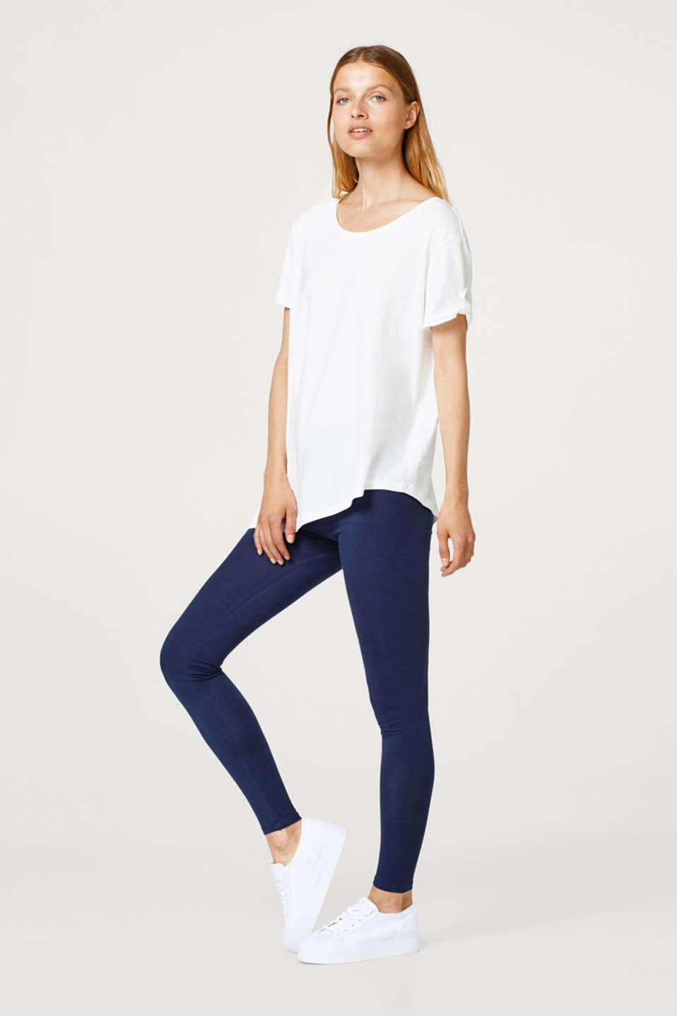 Soft leggings with organic cotton