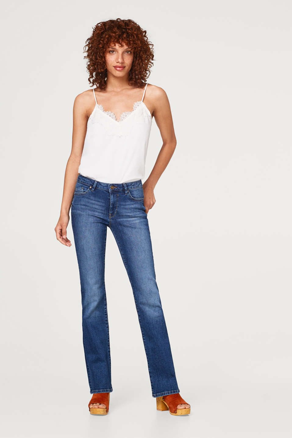 edc - Stretch denim bootcut jeans