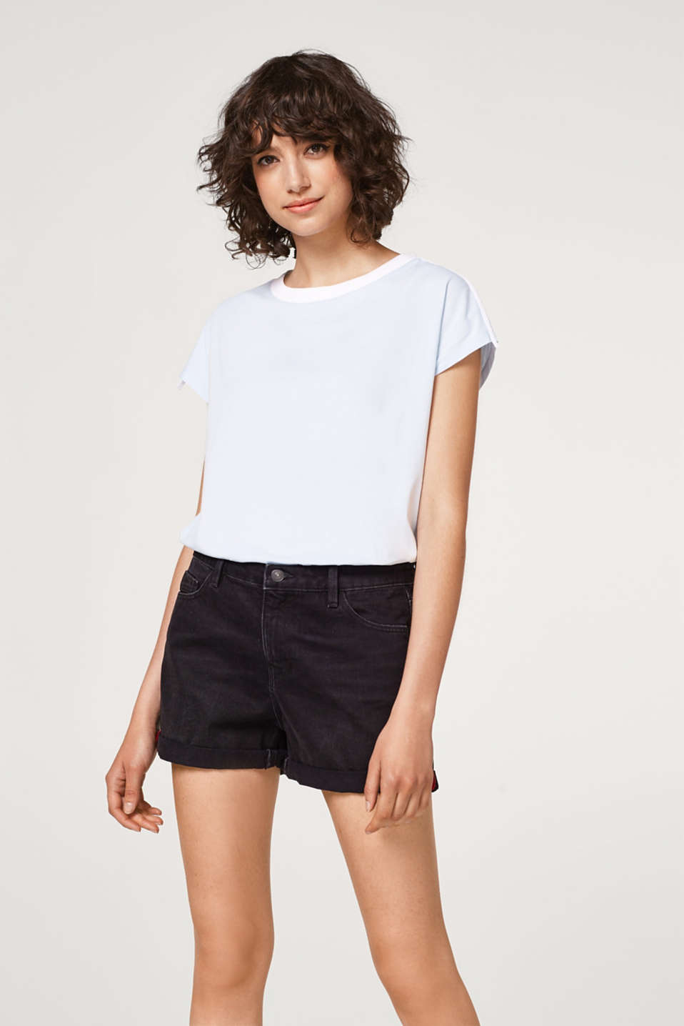 edc - Denim shorts in 100% cotton