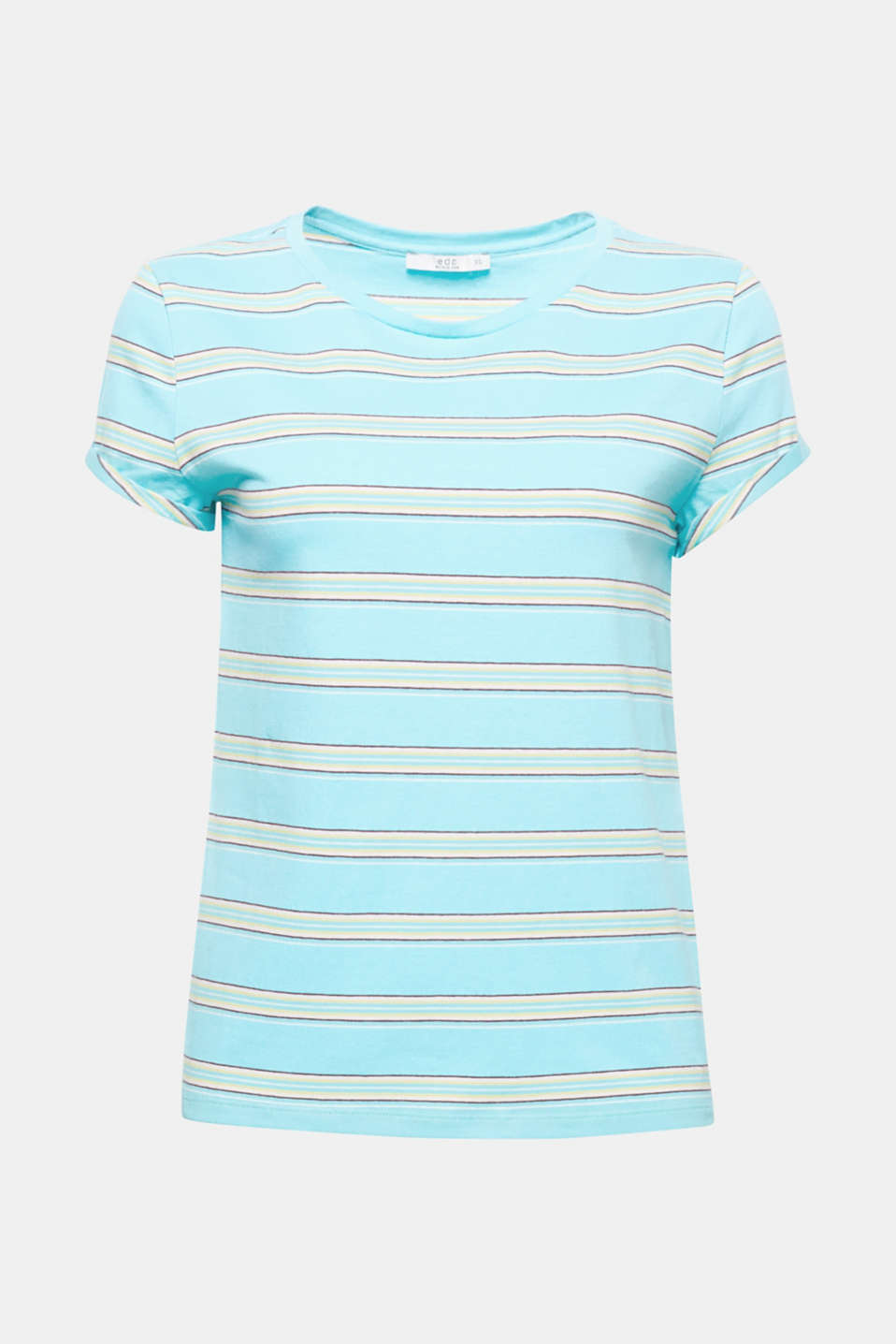 Fresh stripes with a comfy, stretchy fit: The trendy stripes add colour and makes this top a favourite for summer.