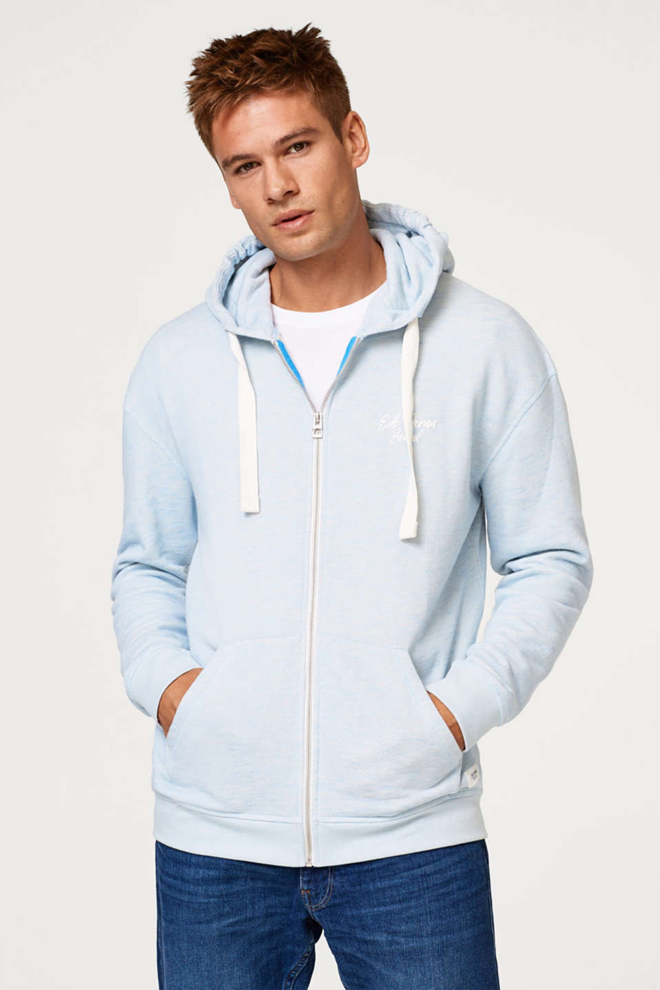 edc - Oversized hoodie in blended cotton