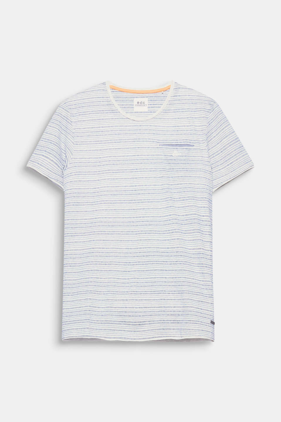 This T-shirt with a patch breast pocket has a super-casual summer style thanks to the laid-back striped print and the comfy jersey fabric.