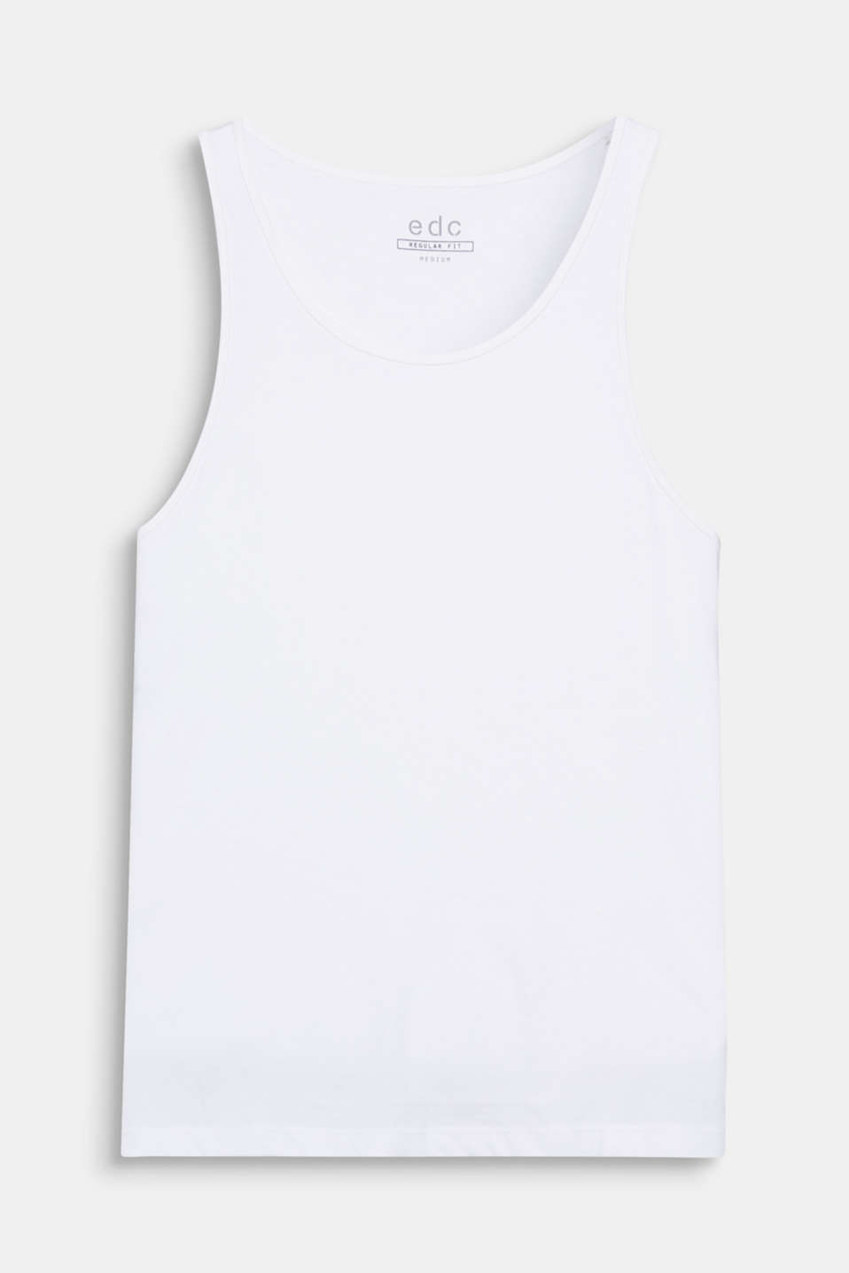 This super comfortable, casual vest made of pure cotton is a must-have basic piece.