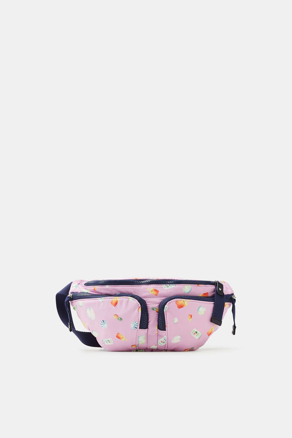 Esprit - Hip pack with a summery print