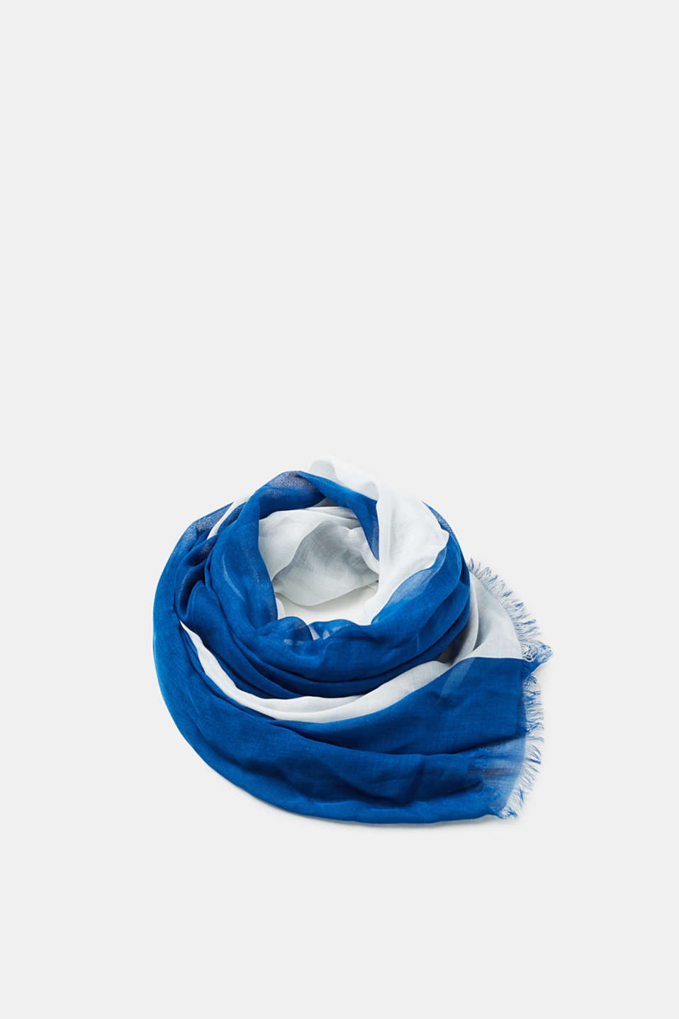 Esprit - Transparent, two-tone scarf