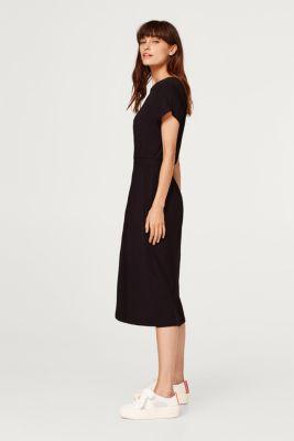 fe782bec295f Esprit - Midi-Kleid aus Jersey-Stretch im Online Shop kaufen