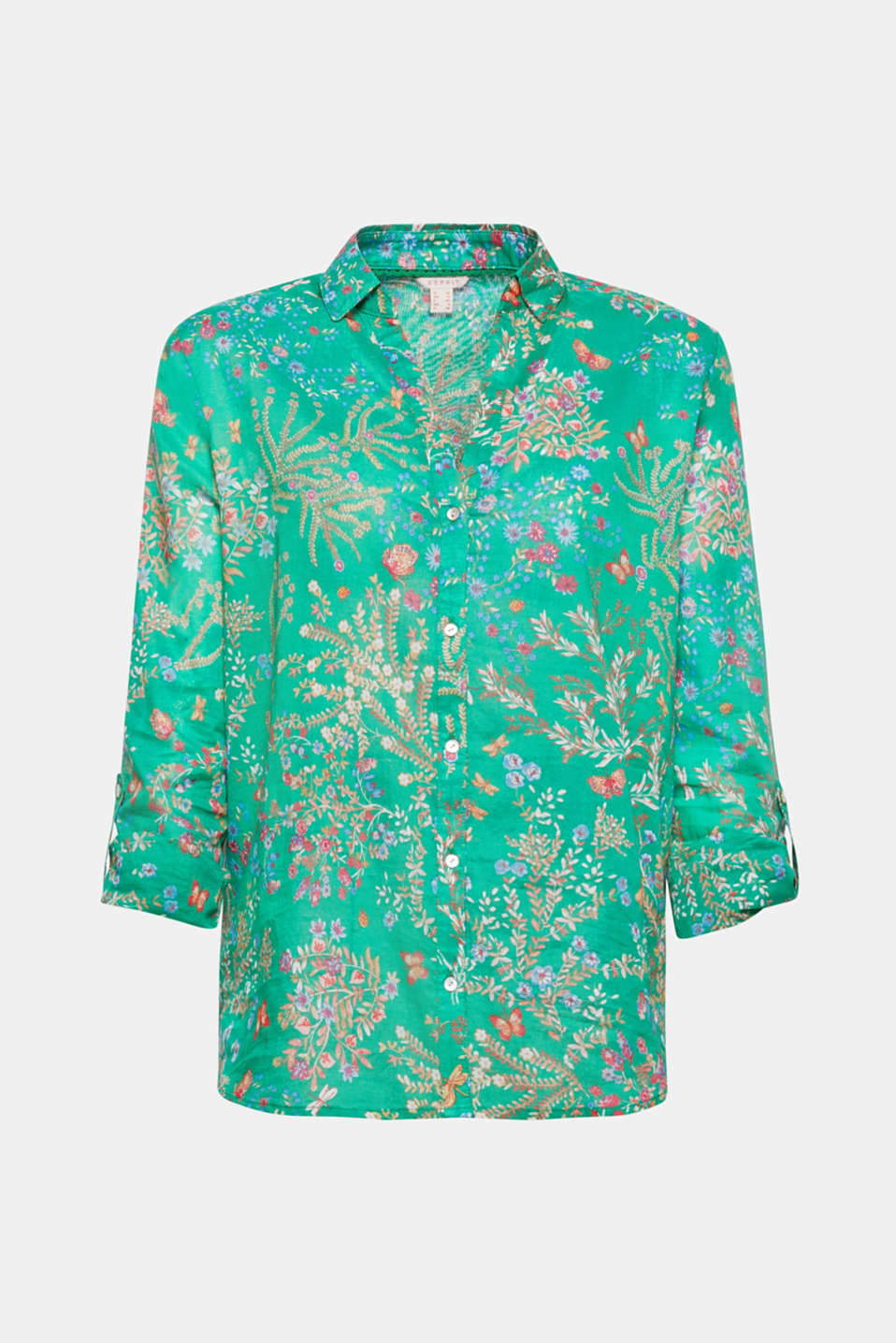 Flowers forever – even casual shirts embellished with colourful floral prints look casual and also incredibly feminine!