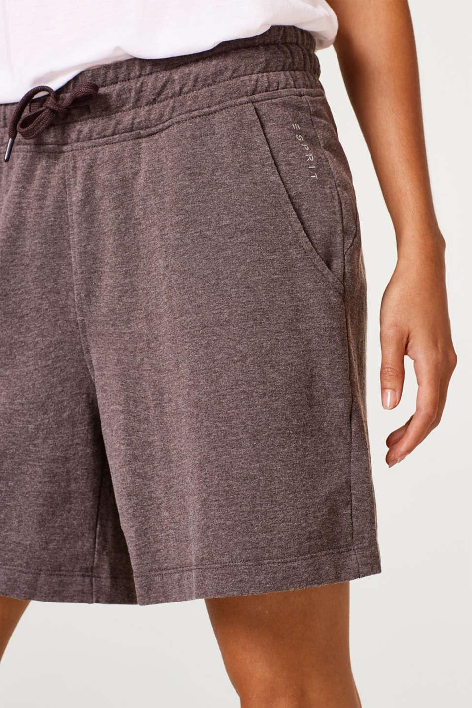 Esprit - Lightweight washed sweat shorts