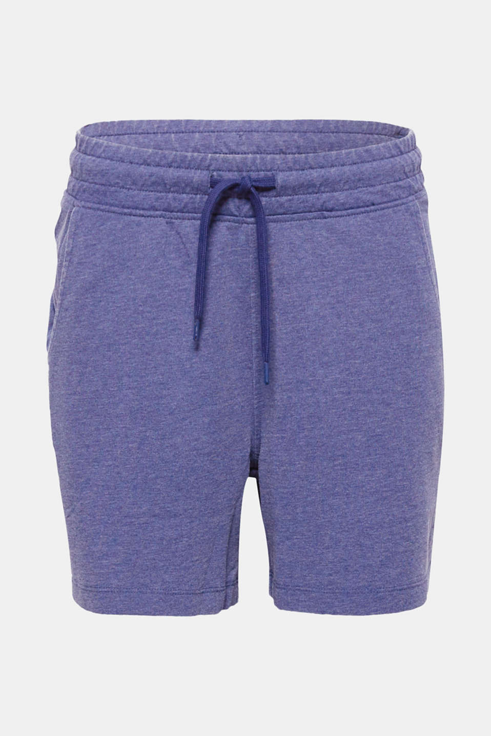 For casual wear and sports: The mock, airy burnt-out look gives these lightweight sweat shorts their casual charm!