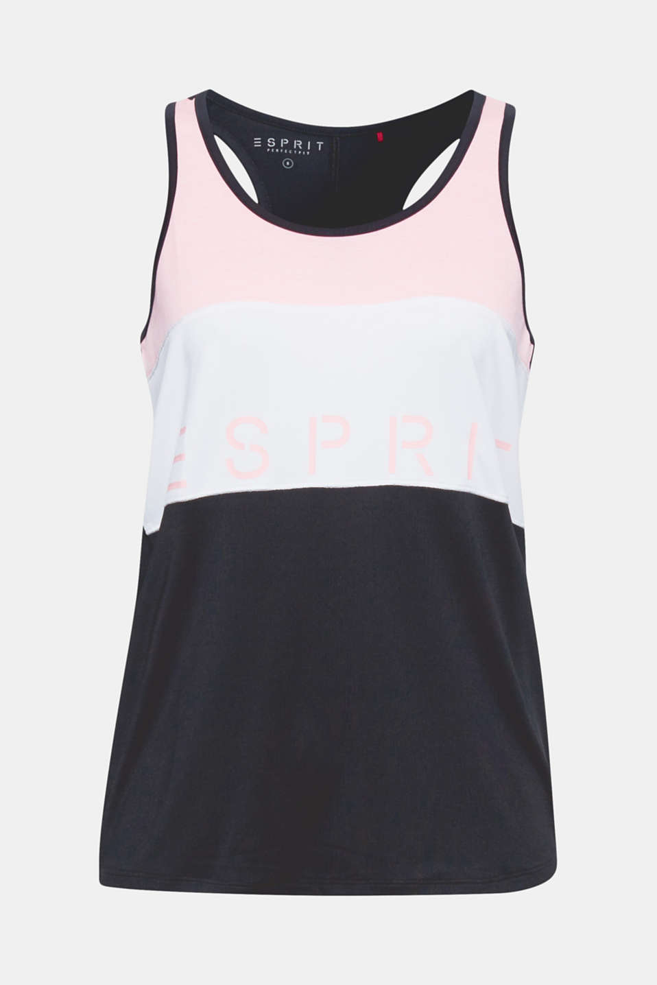 Let's go! In this active top with a sporty racer back, fresh colour blocking, a striking logo and a stylish neon logo, you are sure to be perfectly styled.