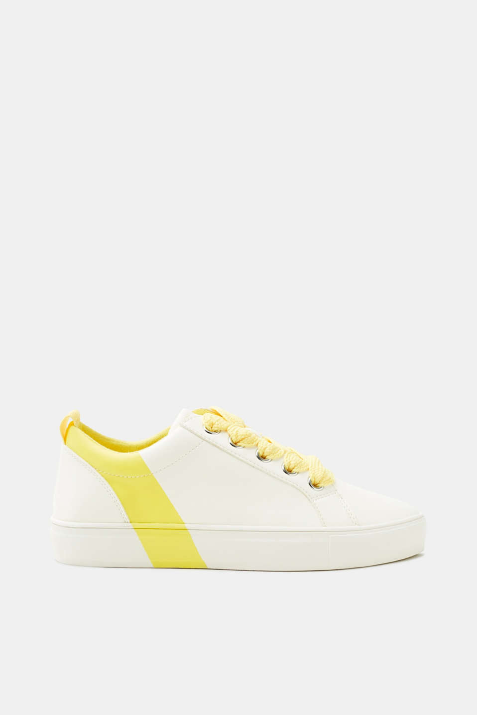 Esprit - Trainers with colour accents, faux leather