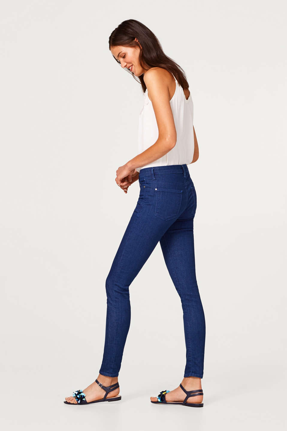 Esprit - Stretch jeans in a slim five-pocket fit