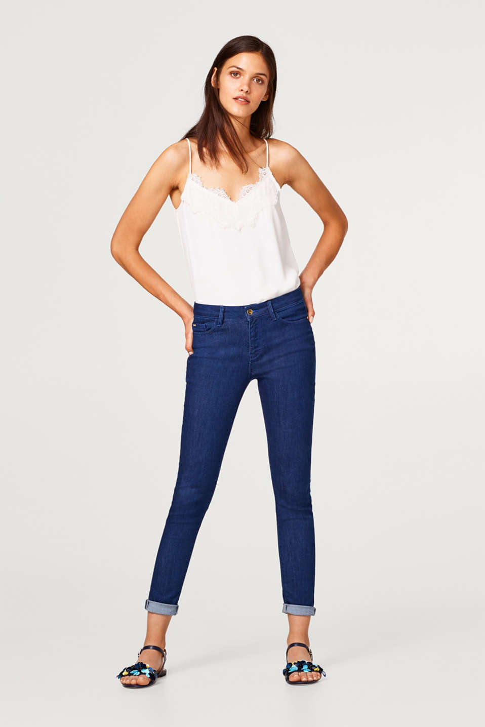 Stretch jeans in a slim five-pocket fit
