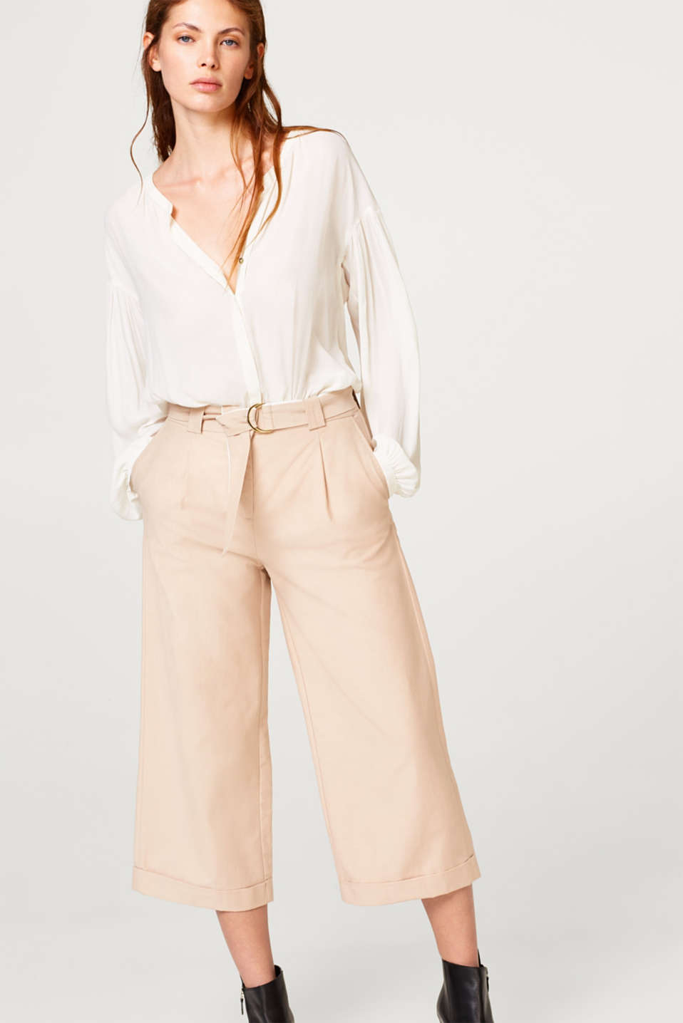 Esprit - Culottes with new details