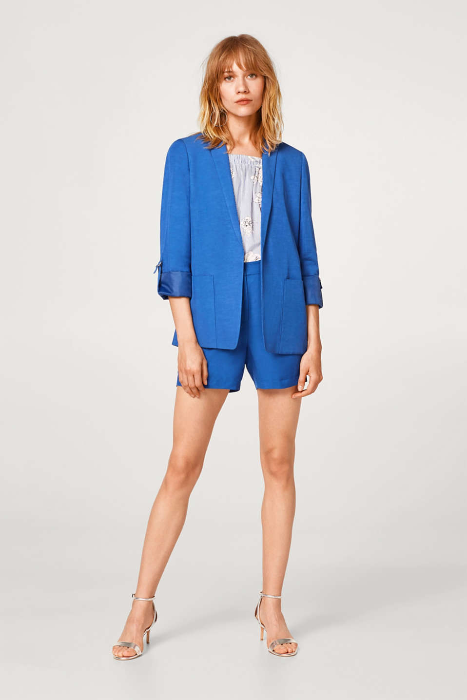 SUMMER SUIT mix + match casual turn-up blazer
