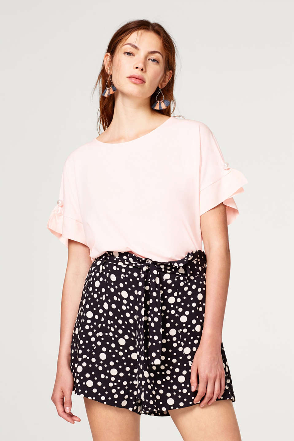 Esprit - Oversized top with bead details