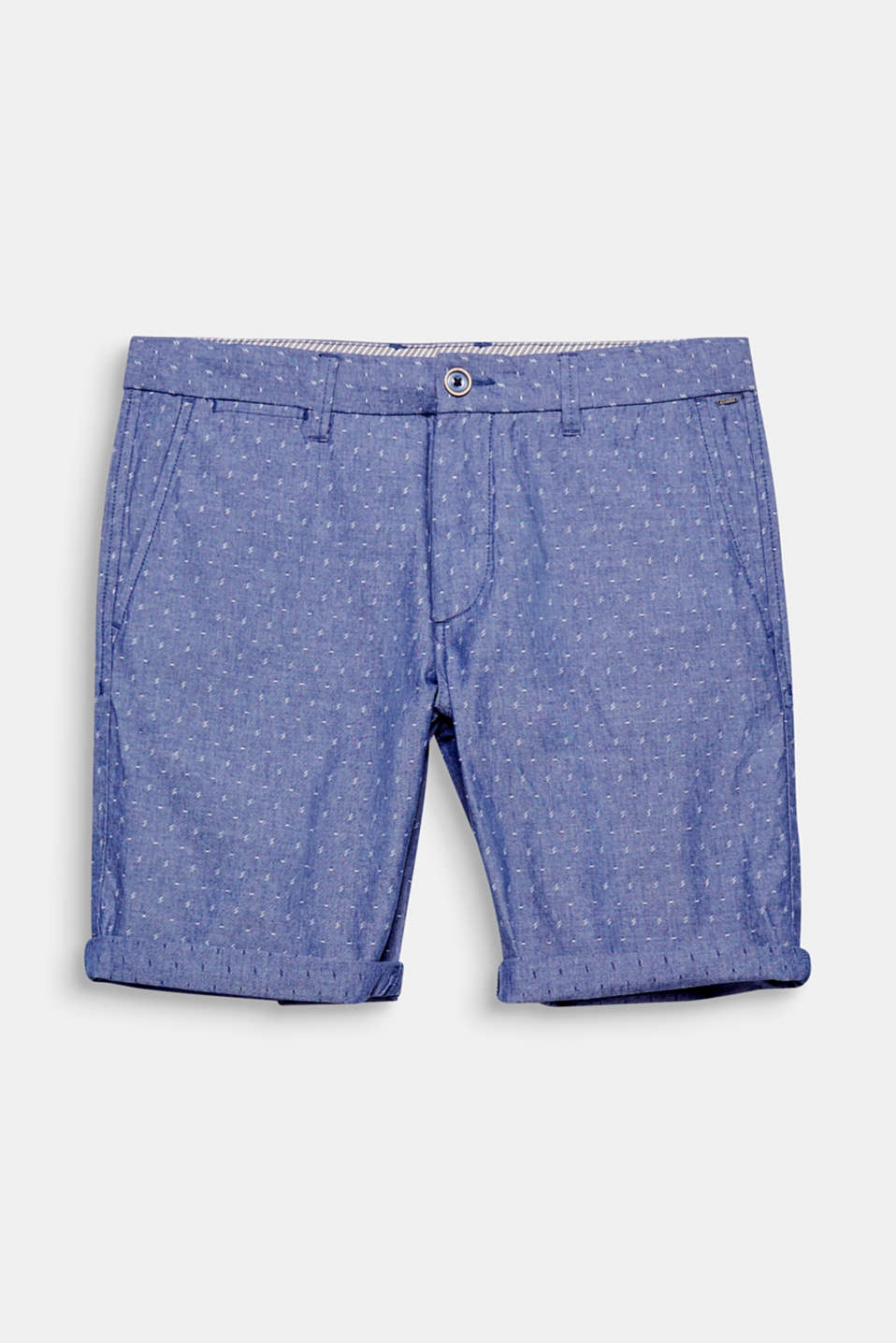 For the modern casual look: These chambray shorts will give your summer styling a distinctive individual touch!