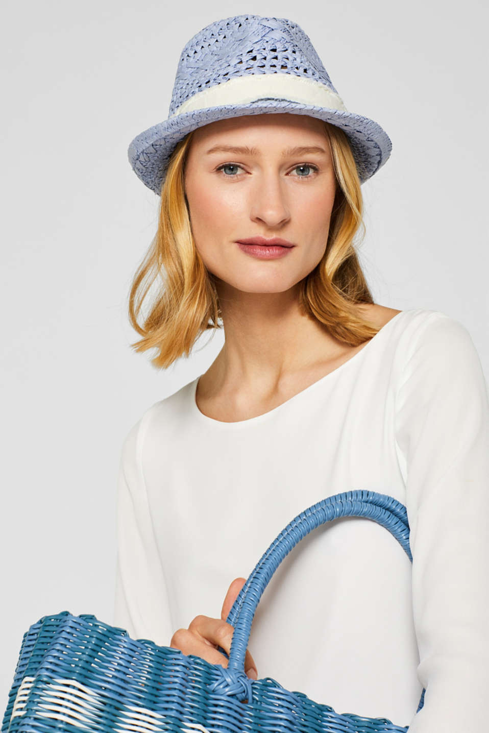 Hats/Caps, BLUE, detail image number 2