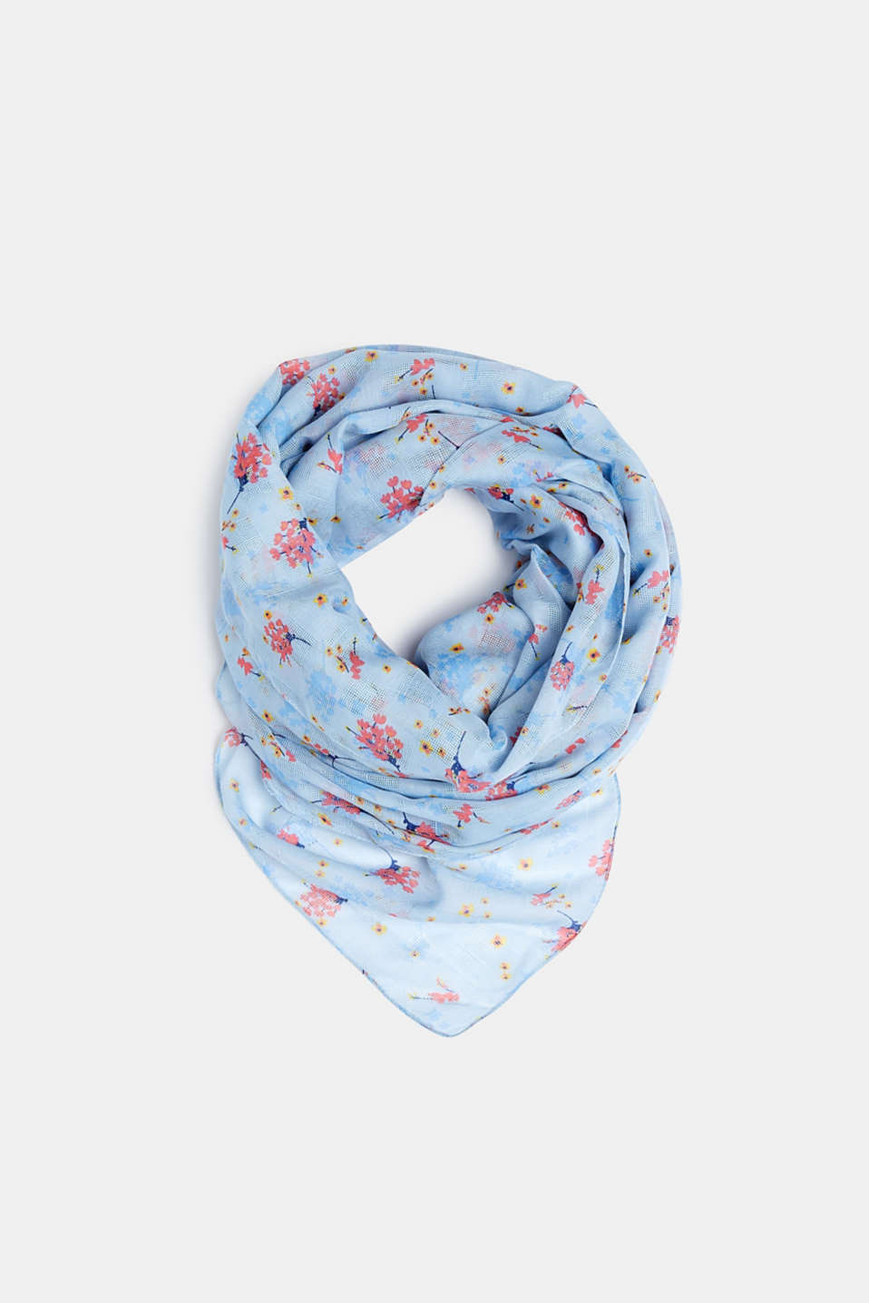 edc - Scarf with floral print