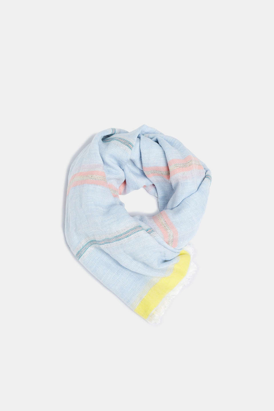 Shawls/Scarves, LIGHT BLUE, detail image number 0