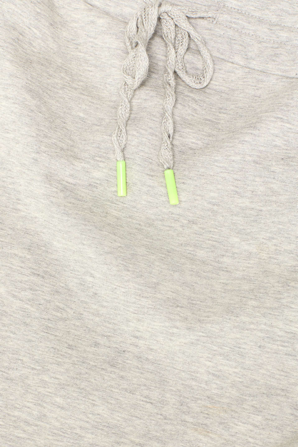 Sweatshirt fabric skirt with stretch and neon details, MEDIUM GREY, detail image number 4