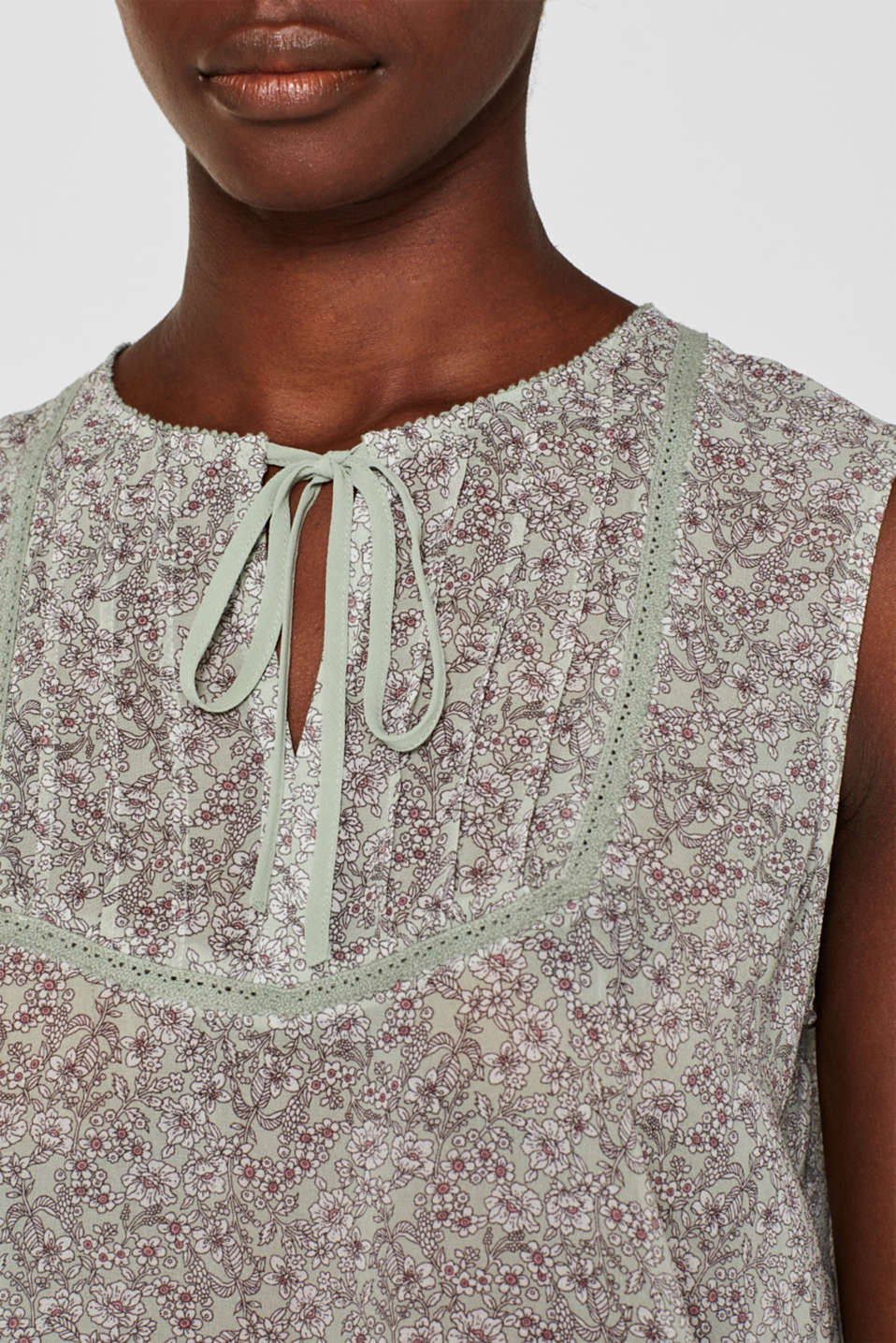 Blouses woven, PASTEL GREEN, detail image number 2