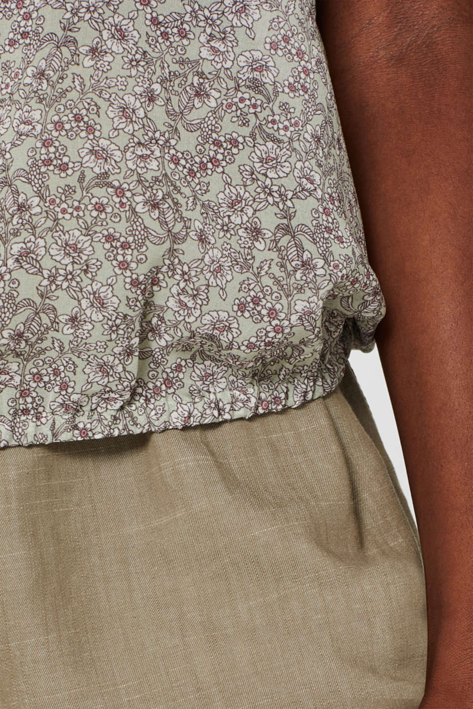 Blouses woven, PASTEL GREEN, detail image number 5