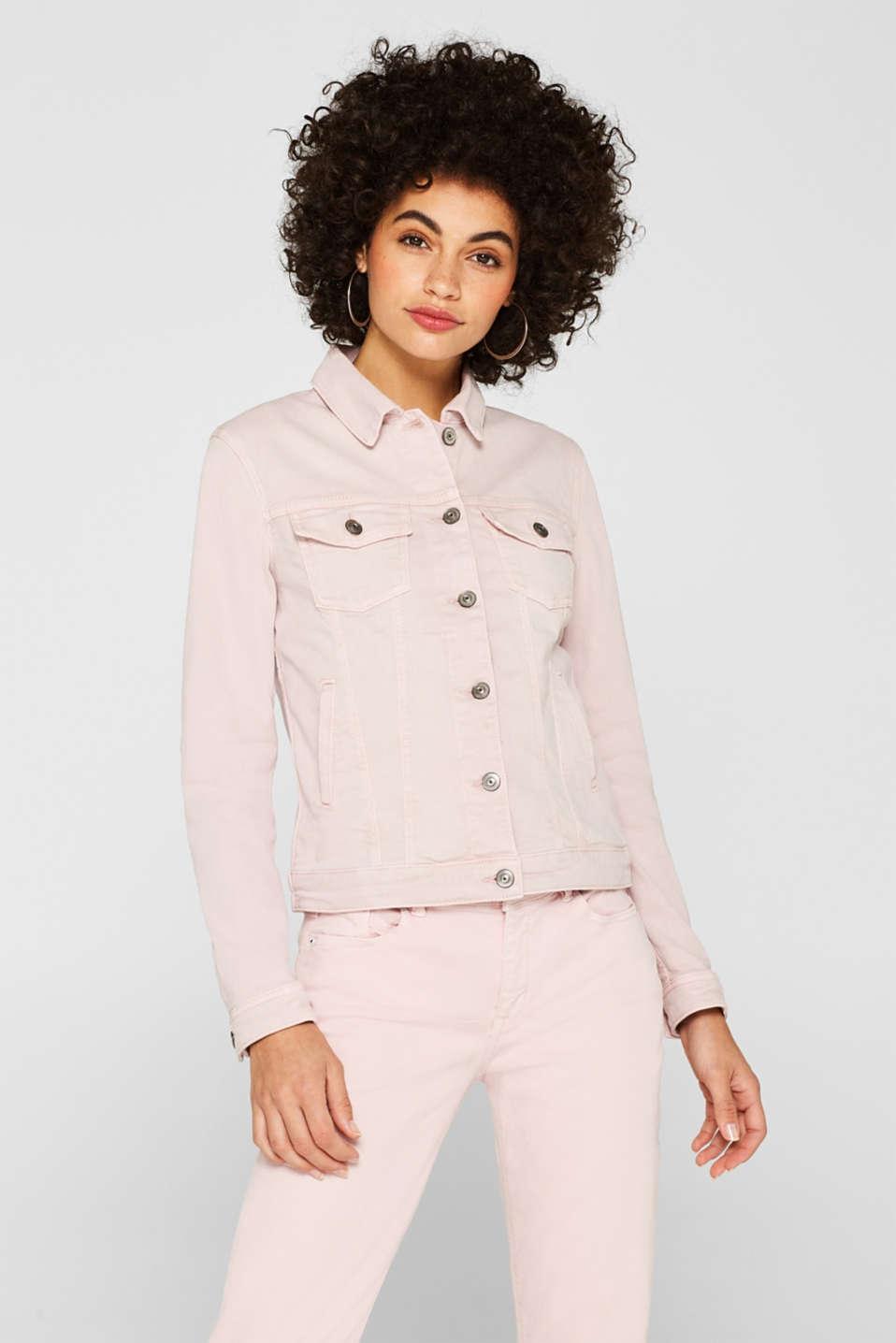 Jackets indoor denim, LIGHT PINK, detail image number 5