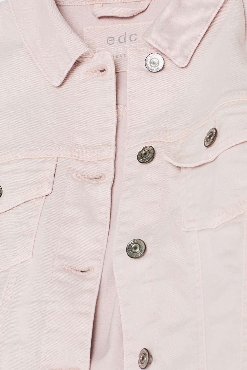 Jackets indoor denim, LIGHT PINK, detail image number 4