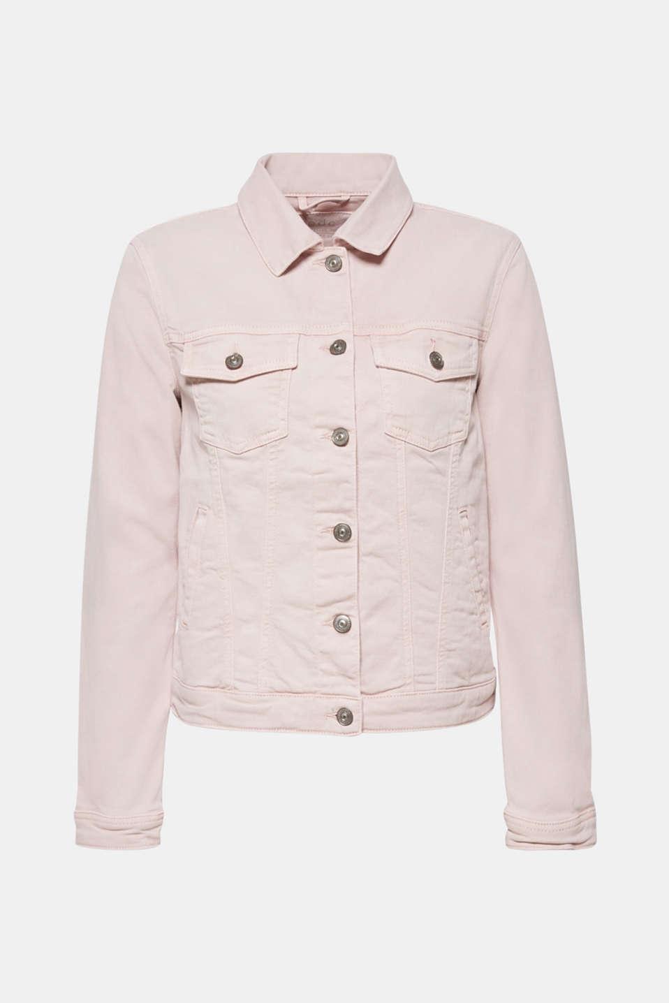 Jackets indoor denim, LIGHT PINK, detail image number 6