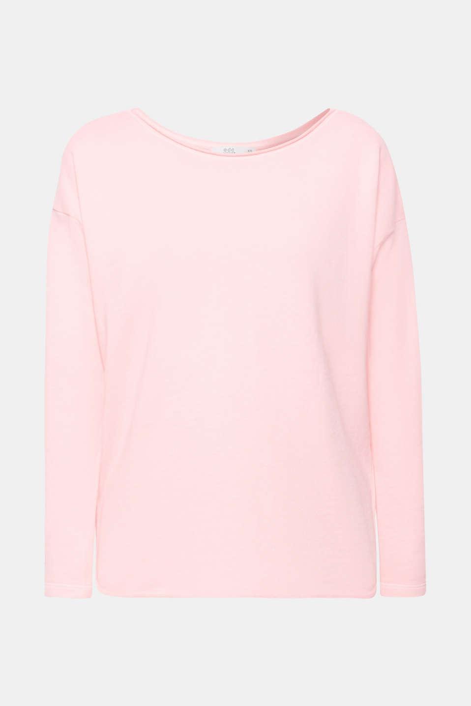 Sweatshirts, PINK FUCHSIA, detail image number 6