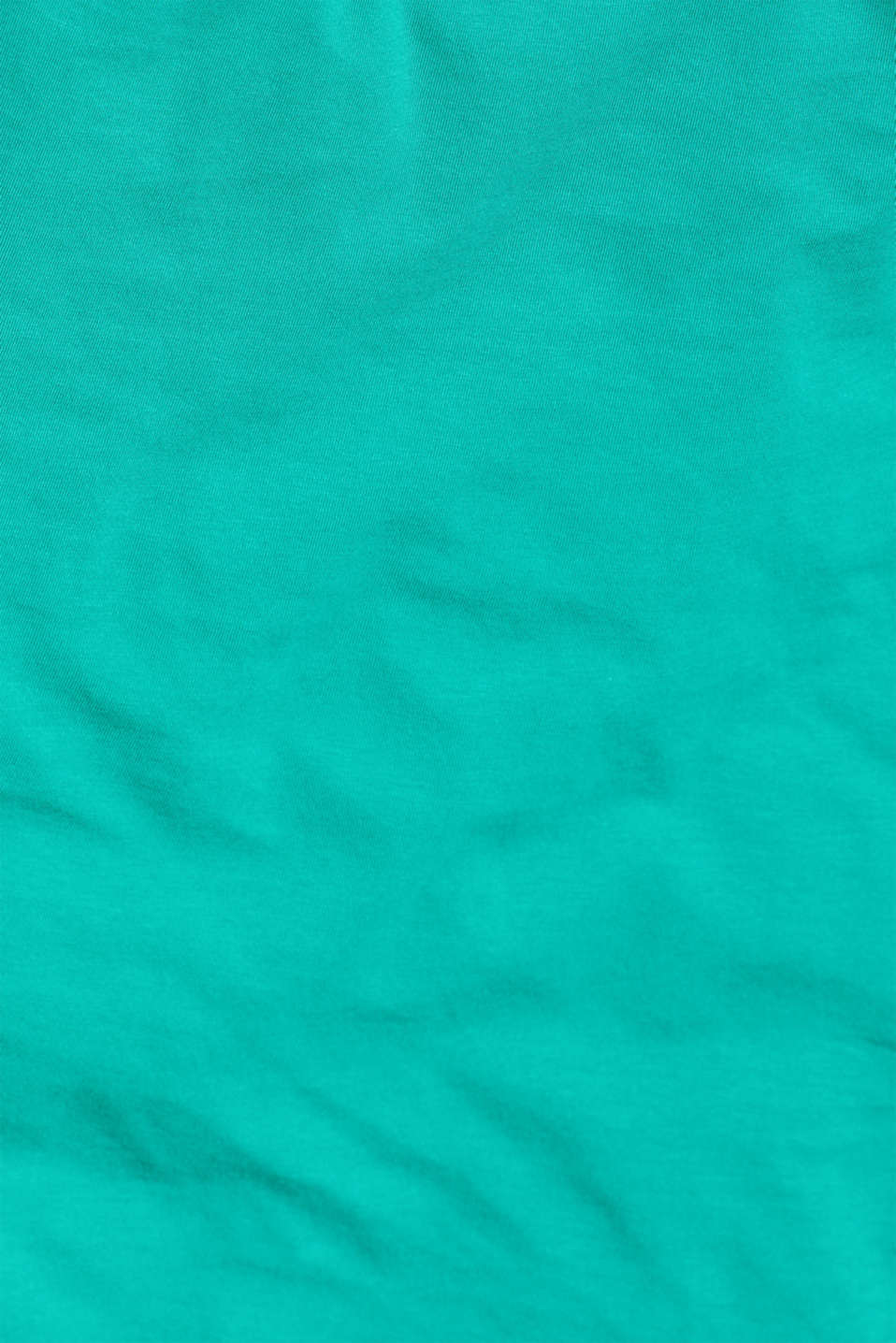 Stretch vest containing organic cotton, EMERALD GREEN 4, detail image number 4
