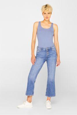 Stretch vest containing organic cotton, GREY BLUE 2, detail